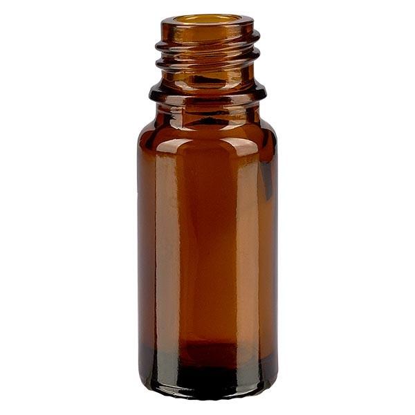 Bruine glazen fles 10ml